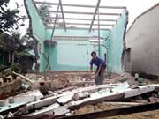 暴雨导致越南多地受灾