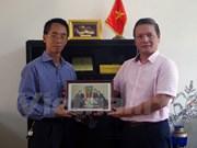 越通社为巩固越南与阿尔及利亚传统友谊作出积极贡献