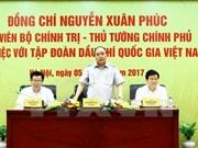 越南政府总理阮春福莅临越南国家油气集团调研