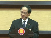 东盟共同体:东盟成立50周年纪念仪式在印尼举行