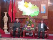 柬埔寨人民党高级代表团对越南北宁省进行工作访问