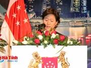 新加坡驻越南大使举行国庆招待会