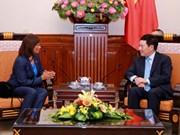 越南政府副总理兼外交部长范平明会见东帝汶新任驻越大使