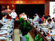 越共中央宣教部部长赴海阳省考察十二届四中全会决议执行情况