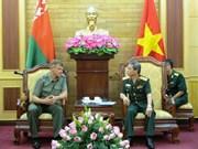 越南与白俄罗斯军队加强媒体合作