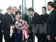 越南政府总理阮春福抵达曼谷 开始对泰国进行正式访问