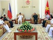 加强越南与菲律宾海军的双边合作关系