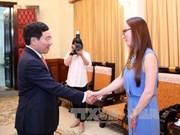 越南外长范平明会见墨西哥参议院外交委员会主席