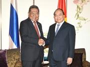 越南政府总理阮春福会见泰越友好协会主席