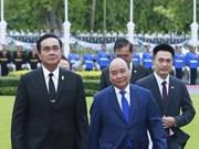 越泰发表联合声明 加强两国战略伙伴关系
