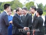 阮春福与旅泰越南侨胞举行见面会 圆满结束对泰国的访问之旅