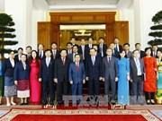 越共中央办公厅与老挝人民革命党中央办公厅加强合作