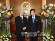 阮富仲总书记会见印尼国会议长塞特亚·诺凡多   探访越南驻印尼大使馆