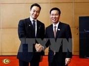 中央宣教部部长武文赏会见日本自由民主党青年局代表团