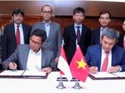 越南航空公司与印尼国营航空公司嘉鲁达签署扩大战略合作备忘录