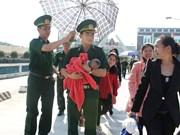越中边防部队携手共建友好站屯  携手维护边境安全稳定