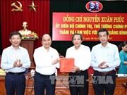 阮春福希望广平省成为促进越南旅游业发展的一股大风