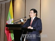 范平明副总理与缅甸一流企业代表交流