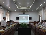 韩国和欧洲企业来到后江省寻找投资商机