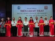 第22次九龙江三角洲地区美术展在后江省举行