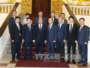 越南政府总理阮春福会见韩国乌山市前市长