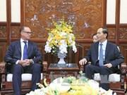 越南国家主席陈大光会见奥地利驻越大使