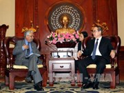 胡志明市与联合国开发计划署加强合作