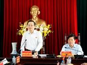 国会副主席冯国显: 永隆省应朝着适应海水入侵现状推进农业结构转型