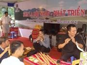 越老贸易与旅游展在山罗省木州县正式开展