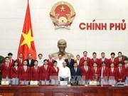 政府总理阮春福会见第29届东南亚运动会越南体育代表团各成员