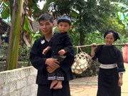 """越南北部山区高平省岱依族和侬族人过七月十五及""""回娘家""""的习俗"""