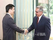 古巴外交部代表团访问越南