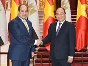 阮春福总理会见埃及总统塞西