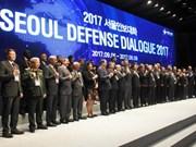 越南代表出席2017年首尔防务对话和2017年越南-韩国国防政策对话