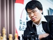 2017国际棋联世界杯赛:黎光廉被淘汰出局