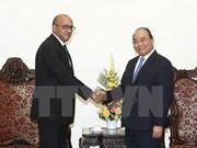 阮春福总理会见古巴驻越大使