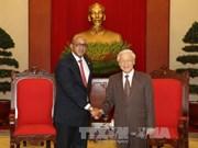 越共中央总书记阮富仲高度评价古巴驻越大使对越古关系的贡献