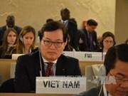 越南代表出席联合国人权理事会第36次会议