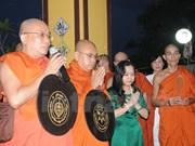 旅居缅甸越南人为越南英雄烈士们举行超度法会