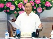 越南政府8月例行会议决议:致力实现2017年经济增长率为6.7%的目标