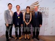 """越南建筑师荣获世界建筑师大会""""斯戈泰斯""""奖项"""
