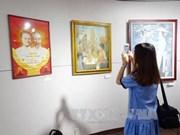 越老柬美术展在岘港市举行