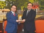 日本协助河内发展城市轻轨交通