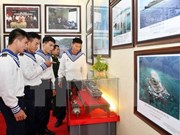 """""""黄沙和长沙归属越南:历史证据和法律依据"""" 资料图片展在乂安省举行"""