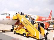 越捷航空公司出售胡志明市—金边航线的机票