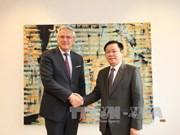 越南与比利时一致同意扩大双边合作关系