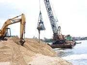 越南在沙子出口中采取限制措施