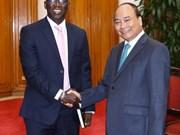 政府总理阮春福会见世界银行驻越南首席代表奥斯曼•迪奥