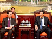 河内市与老挝万象市进一步促进团结 加深感情