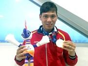 """第九届东南亚残疾人运动会:越南运动员武青松和他""""不会半途而废""""的秘诀"""